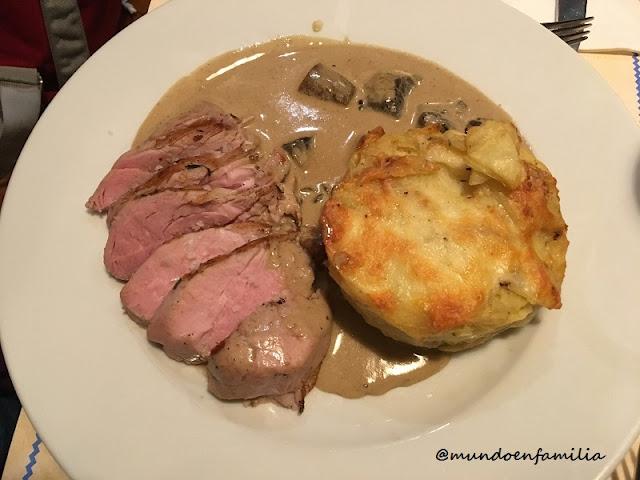 Pork Tenderloin (Restaurante U Bulinu)