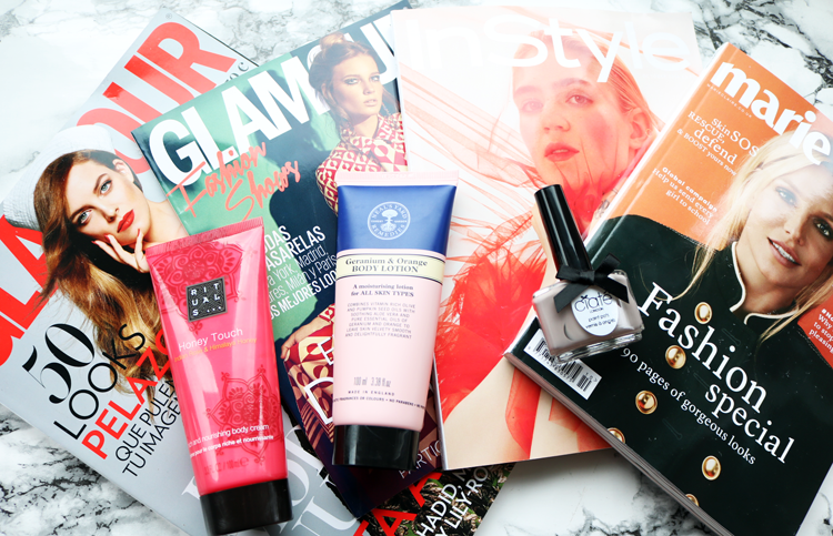 UK Magazine Freebies: Neal's Yard Remedies with In Style, Ciate with Marie Claire + a bonus Spanish one!