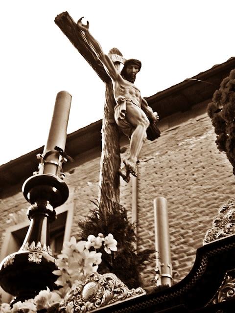 Santo Cristo de la cofradía de las Angustias y Soledad de León. Foto G. Márquez. León