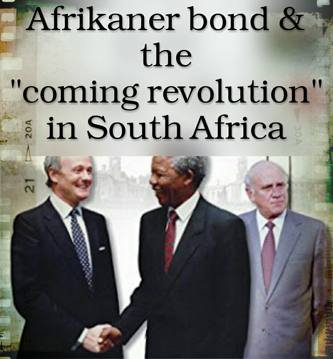 VIDEO: A documentary on the modern Afrikanerbond... The most shocking is the relationship between the Afrikaner bond and the Rothschild family