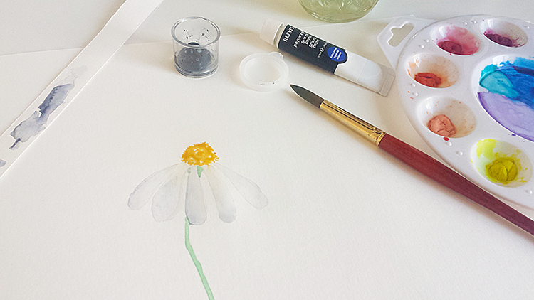 A common issue people have with watercolor is how to paint white subjects. In this tutorial I show you how I create the illusion of white using watercolors.