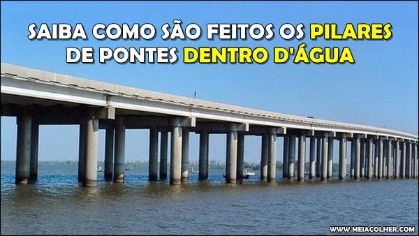 Pontes dentro d'água