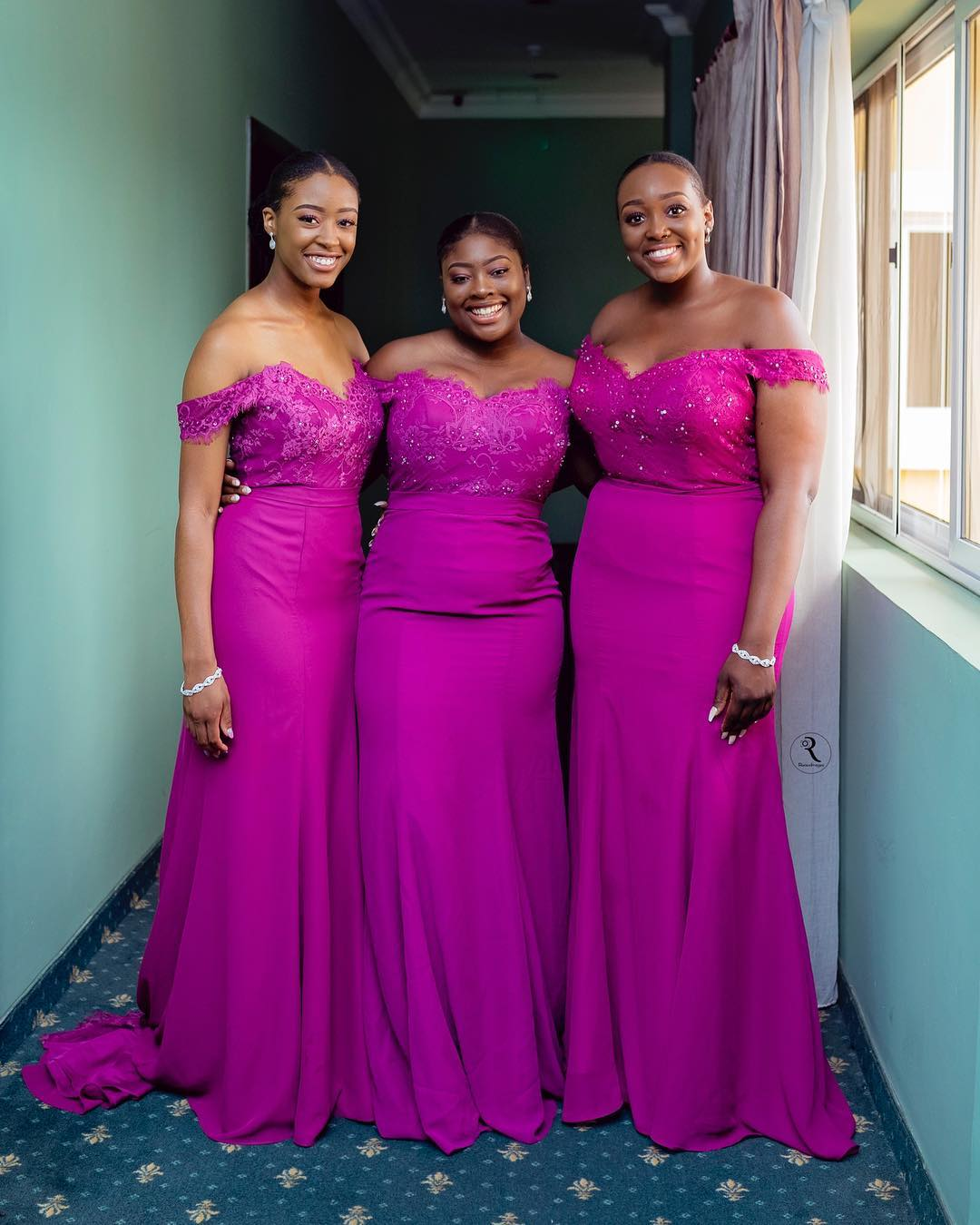 Celebrity Wedding Guest Outfits 2019: Latest Nigerian Bridesmaids Dresses 2018-2019