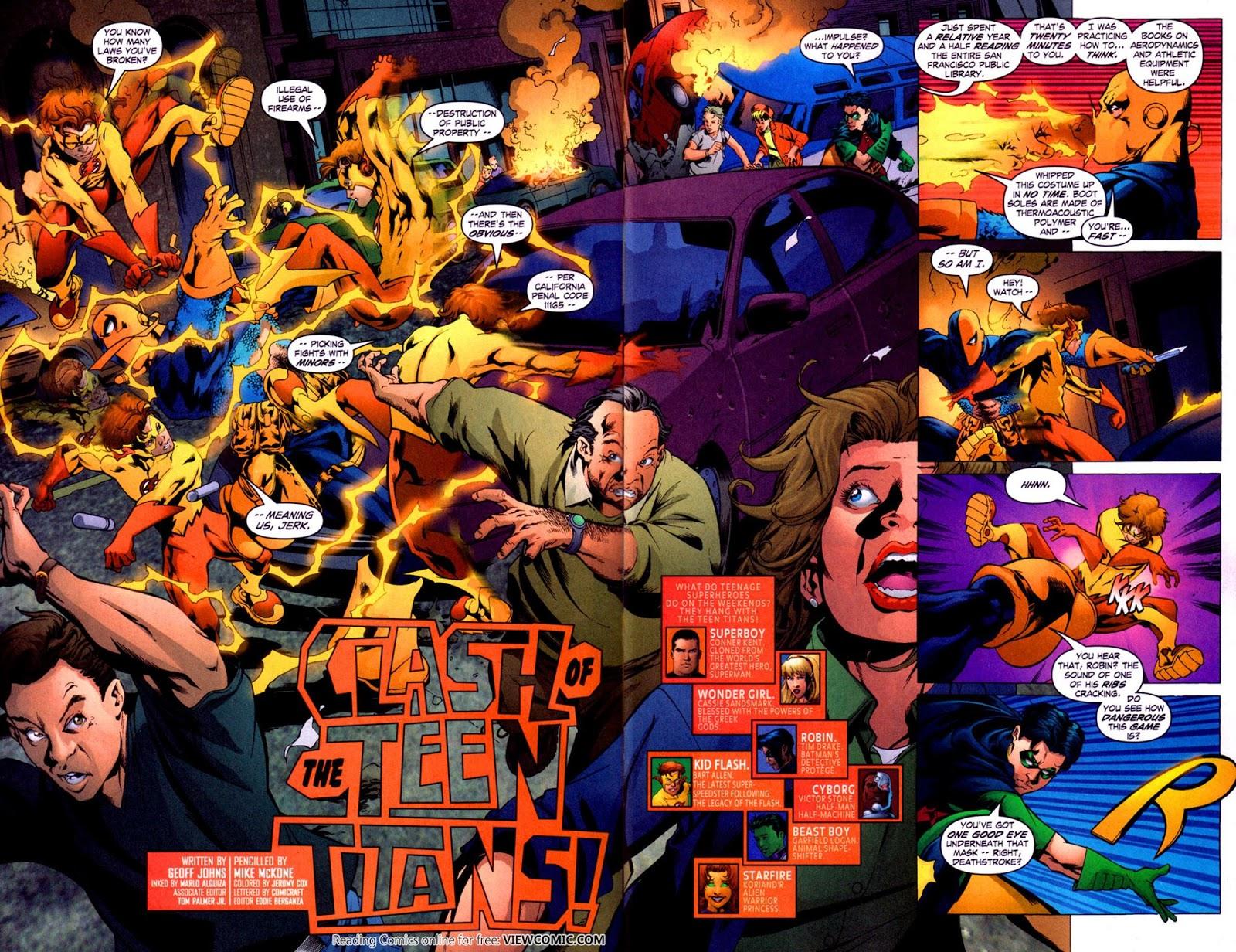 Teen Titans v2 011 ……………………………………… | Viewcomic reading