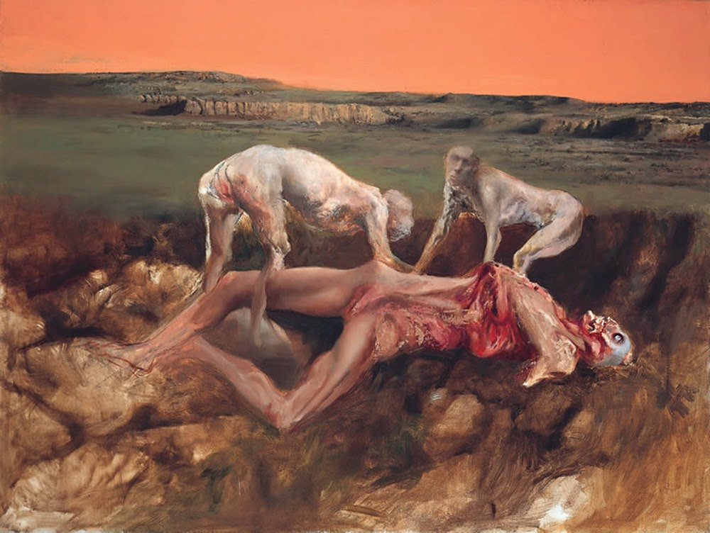 Dead figures, Juan Cárdenas,Macabre Art, Macabre Paintings, Horror Paintings, Freak Art, Freak Paintings, Horror Picture, Terror Pictures