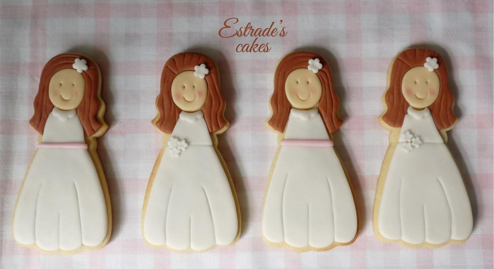 galletas para primera comunión - niña 2