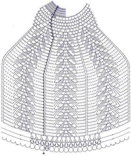 abajur de mesa em crochê com gráfico