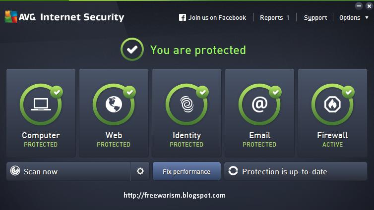AVG Internet Security 2015 Offline Installer Free Download 32bit and 64bit