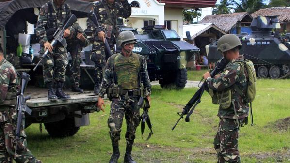 الجيش الفلبينى يغلق حسابات مواقع التواصل الاجتماعى للمتشددين