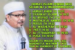 """KH Tengku Zulkarnain: """"NU Dan Muhammadiyah Belum Lahir Ormas-Ormas Islam Ini Sudah Ada Dan Berjuang Untuk NKRI"""""""