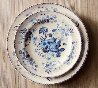 Pottery Barn Vintage Salad Plates-Farmhouse dinnerware-From My Front Porch To Yours