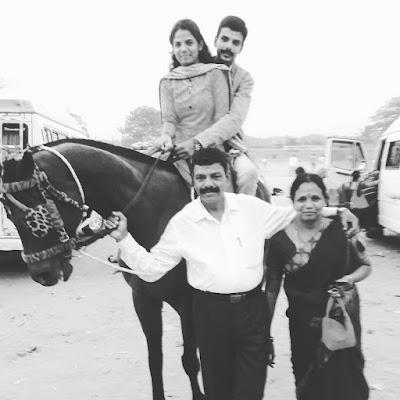 Chandan Achar Family