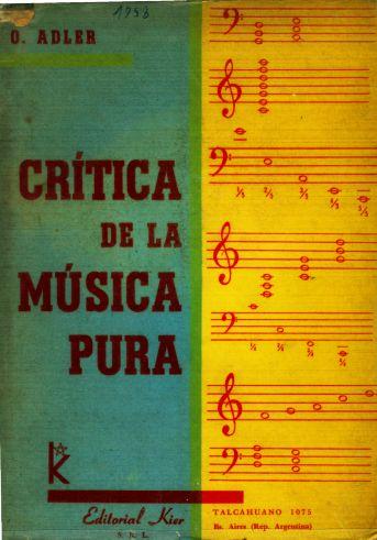 Crítica de la Música Pura de Oskar Adler