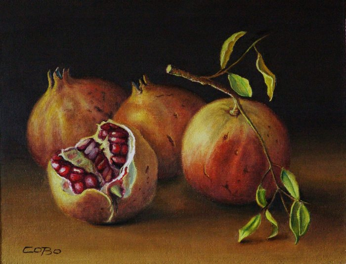 Традиционные ценности живописи. Julio Cobo