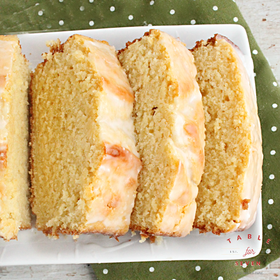 Buttermilk Pound Cake with Buttermilk Glaze