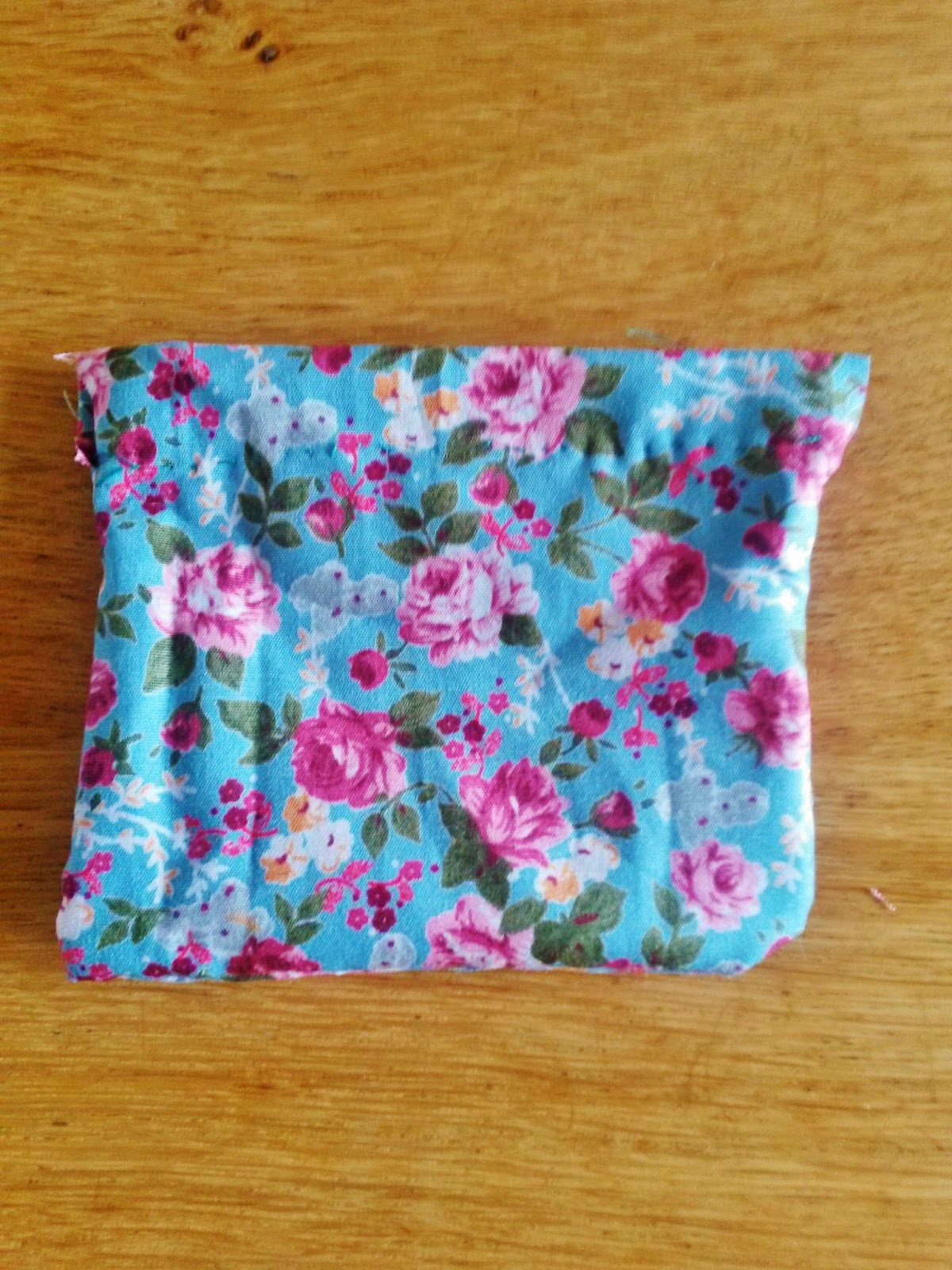 Sewing mini bag for lavender