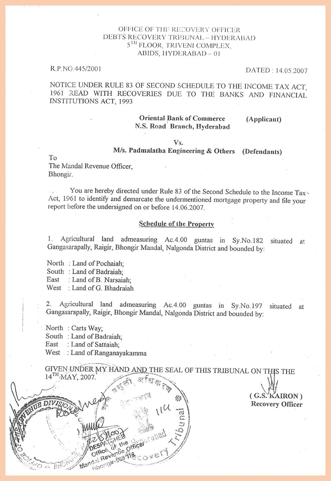 Mandal Revenue Officer-1