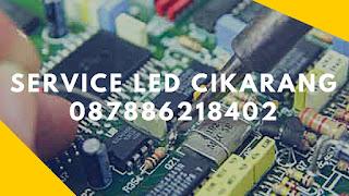 biaya service TV LED dan LCD TV