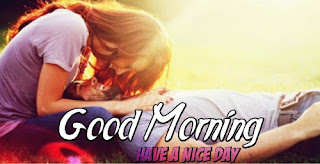 850 Romantic Couple Good Morning Wallpaper Terbaru