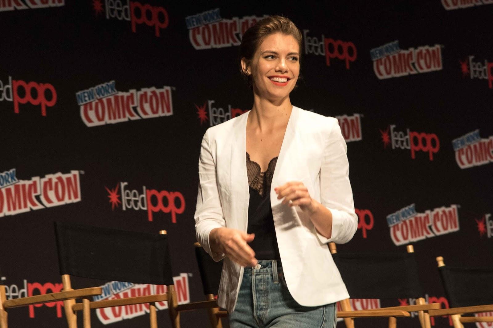 Lauren Cohan at New York Comic Con