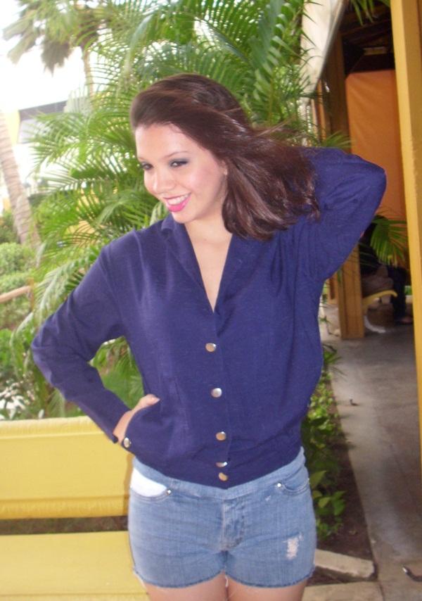 Look Azul Marinho!