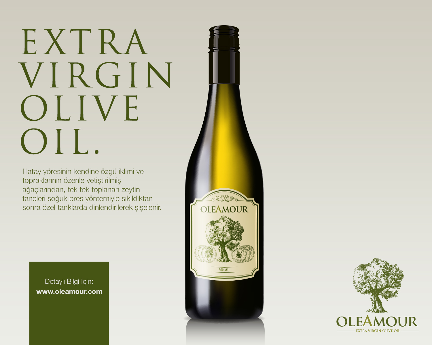 Oleamour Extra Virgin Olive Oil On Packaging Of The World