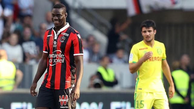 Balotelli a encore marqué en Ligue 1, cette fois face à Nantes
