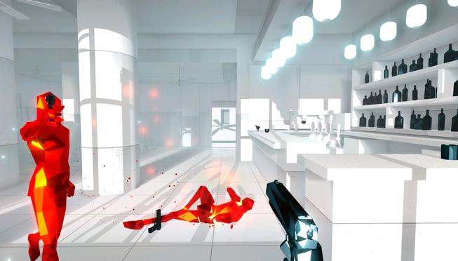 A simple looking FPS, Superhot and Superhot VR finally launches on PS4