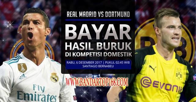 Prediksi Real Madrid vs Borussia Dortmund Liga Champions