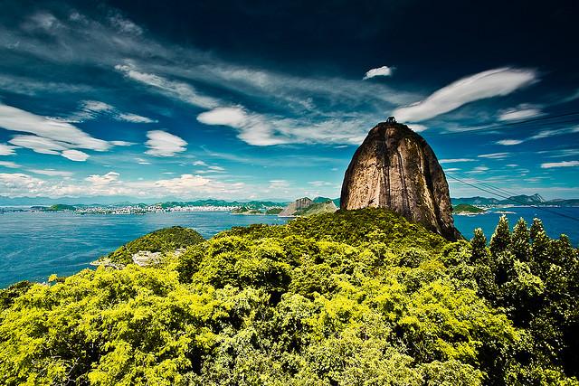 Río de Janeiro en Brasil paisaje