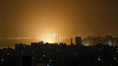 فرحه اسرائيل بقرار ترامب . . تدمير مكتب رئيس حماس بالكامل الان