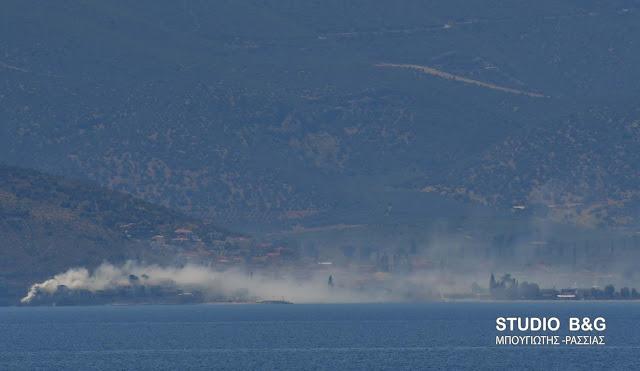 Μεγάλη αναστάτωση στο Κιβέρι από καπνό που έπνιξε όλο το χωριό