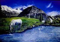 Il cavallo e il fiume