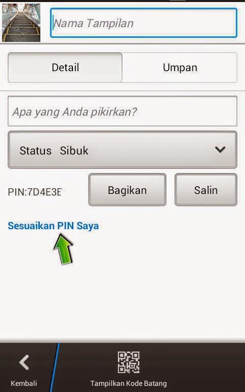 Cara Buat Pin Manis Bbm Di Android
