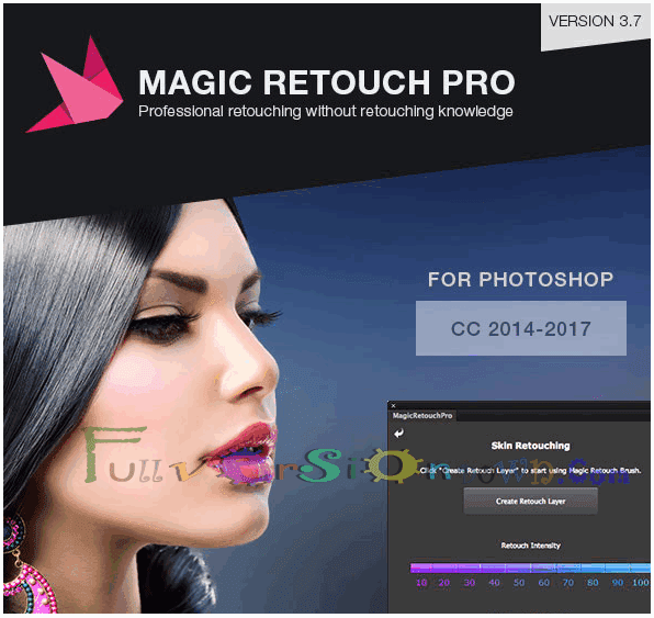 Magic Retouch Pro For Photoshop