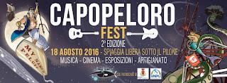 AL VIA LA II EDIZIONE DEL CAPOPELORO FEST
