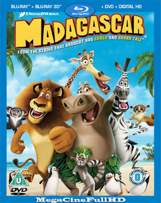 Madagascar (2005) Full HD 1080P Latino