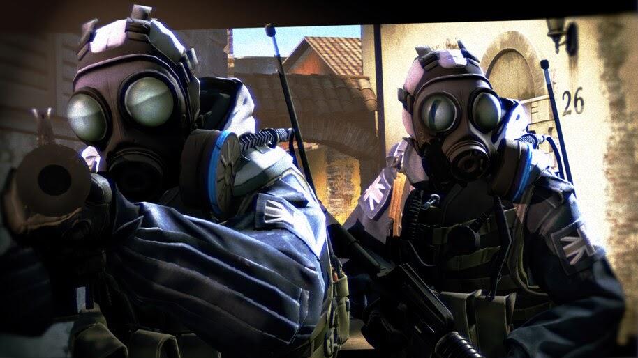 CS:GO, Counter Terrorist, Gas Mask, 4K, #4.3166
