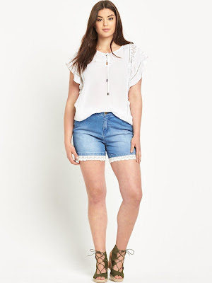 Pantalones cortos para gorditas