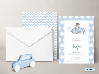 car baptism invitations for boys