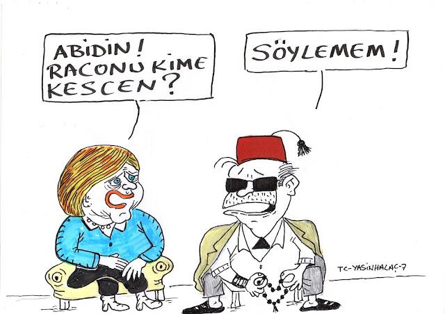 erdoğan racon karikatür