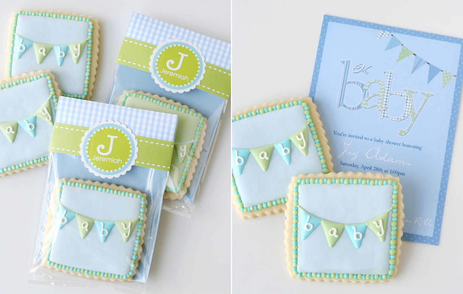 Baby Bunting Cookies Glorious Treats