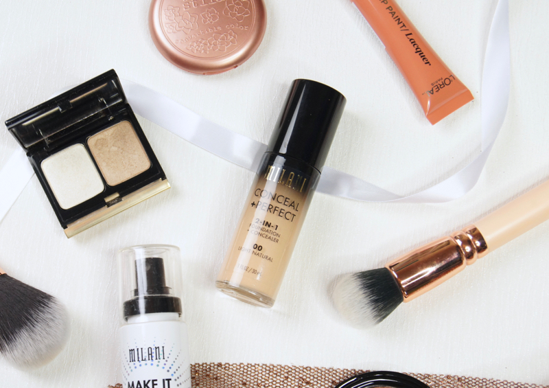 milani conceal and perfect foundation concealer review swatch 00 light natural