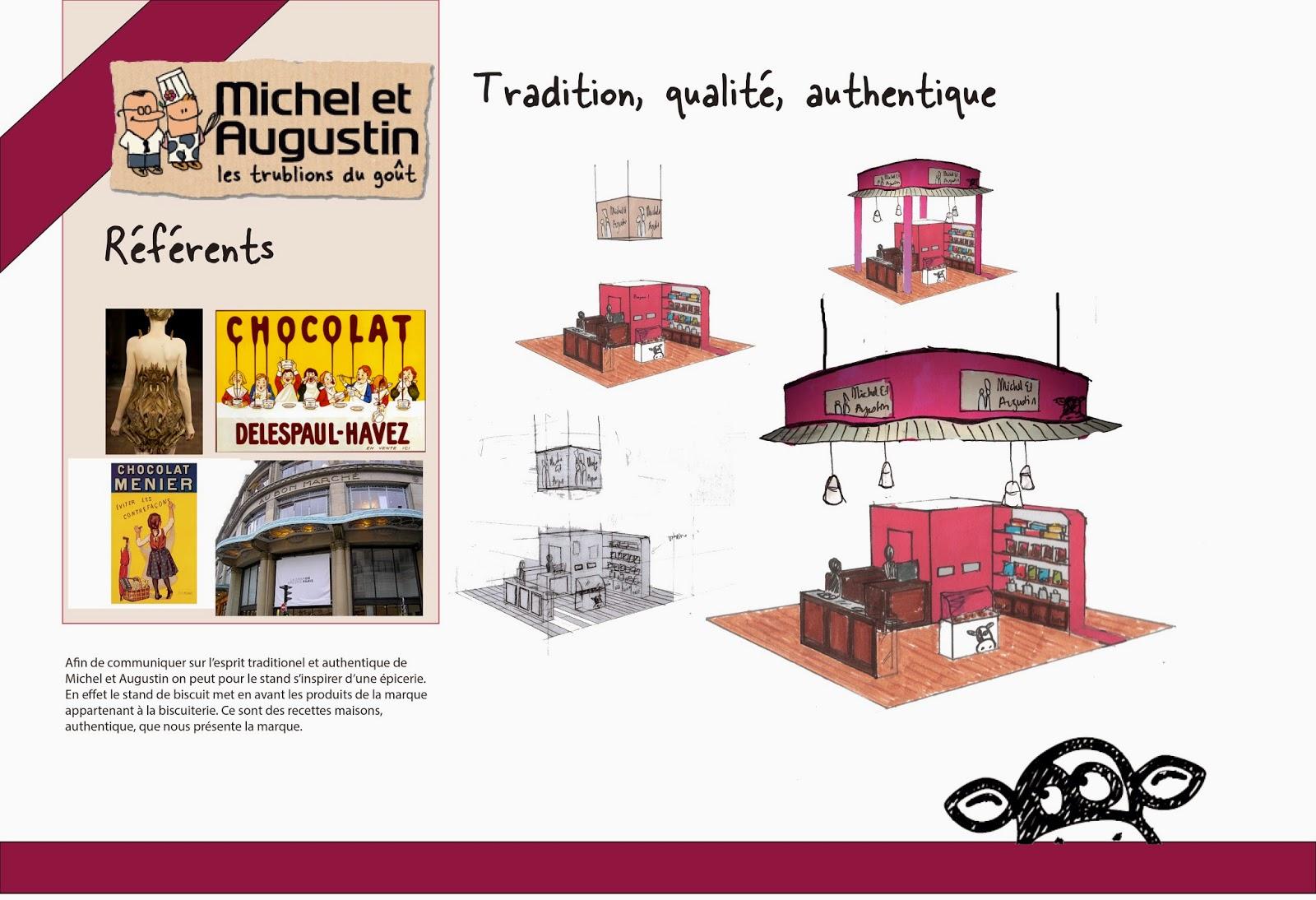 stand michel augustin 1 re ann e marjorie munoz tudiante l 39 ensaama olivier de serres. Black Bedroom Furniture Sets. Home Design Ideas