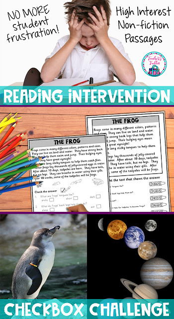 Click here for your non-fiction reading comprehension pack on tpt