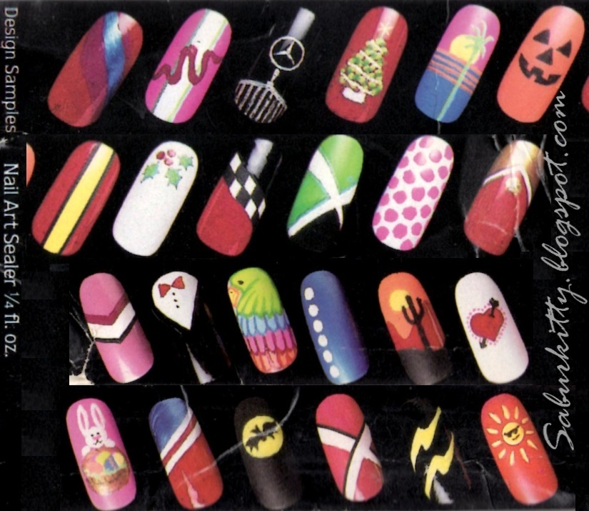 3D Nail Art by Saburkitty Designs: September 2012