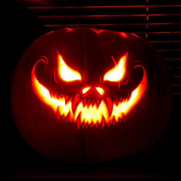 Free Printable Scary Pumpkin Carving Pattern Designs Images & Ideas