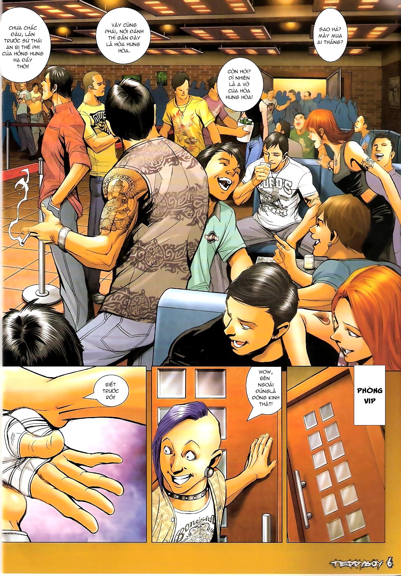 Người Trong Giang Hồ - Chapter 1306: Vinh Nhục Nhất Chiến 1 - Pic 3