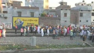 Amritsar: 20 days ago the staff was stopped for the train, the common people trampled