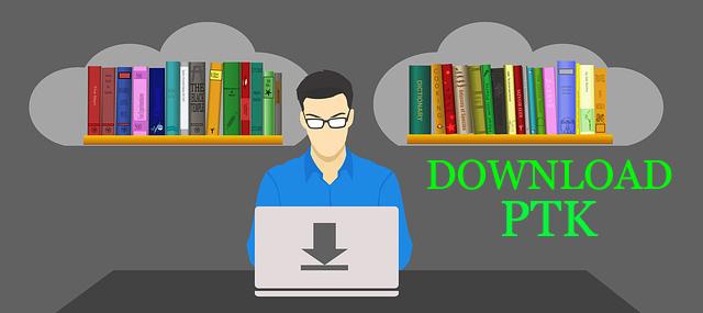 Download Dokumen Contoh PTK Untuk SD SMP SMA Lengkap Versi 2019